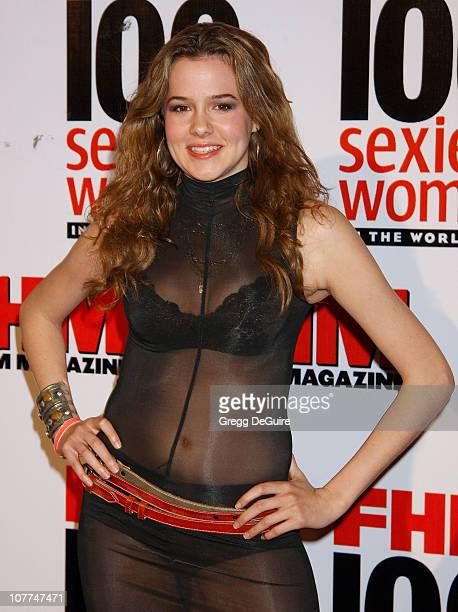 Marieh Delfino during FHM Magazine Hosts The 100 Sexiest Women in the World Party at Raleigh Studios in Hollywood California United States