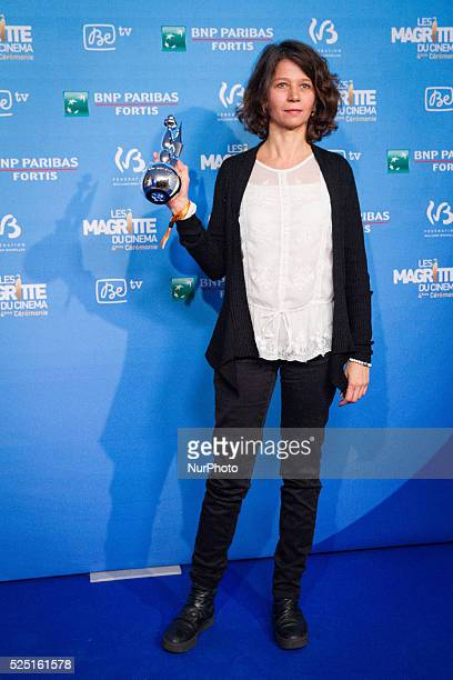 MarieHelene Dozo winner for the best editing at the 4th Ceremony of the Magritte celebrating the best of the belgian movie industry