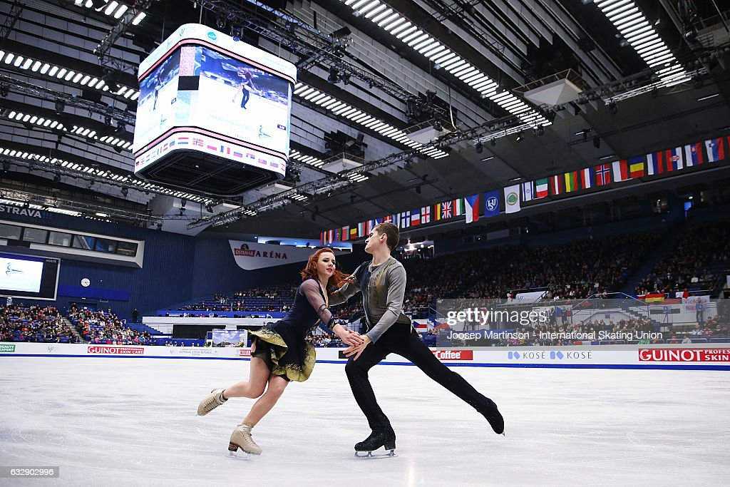 European Figure Skating Championships - Ostrava Day 4