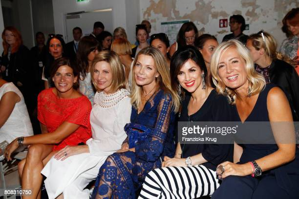 MarieJeanette Ferch US Ambassador to Germany Kimberly Emerson Ursula Karven Viktoria Lauterbach and Judith Milberg attend the Laurel show during the...