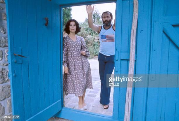 MarieJosé Nat et son mari Michel Drach en 1975 France