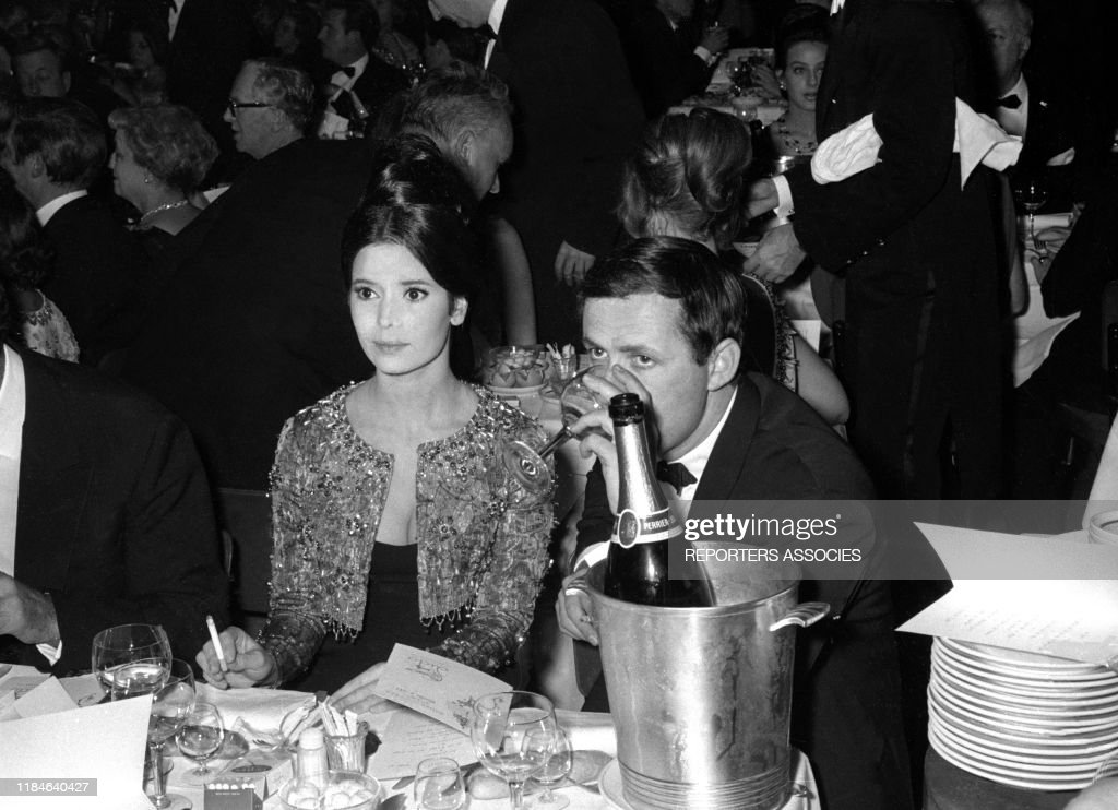 Marie-José Nat et Michel Drach en 1964 : Photo d'actualité