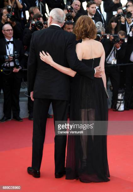 MarieJose Croze and Pascal Greggory attend the 'Based On A True Story' screening during the 70th annual Cannes Film Festival at Palais des Festivals...