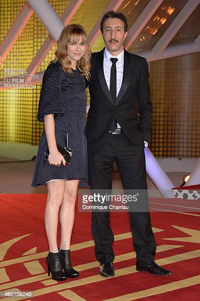 MarieJosee Croze and Hocine Choutri arrive on the red carpet for the evening tribute to Viggo Mortensen during the 14th Marrakech International Film...