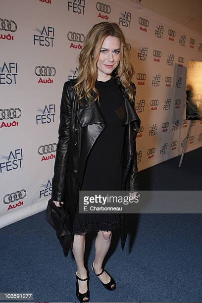 """Marie-Josee Croze at the Los Angeles Premiere of Miramax """"The Diving Bell and The Butterfly"""" at the ArcLight Theatre on November 8, 2007 in Los..."""