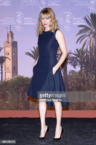 MarieJosee Croze at 'The Narrow Frame Of Midnight' Photocall during the 14th Marrakech International Film Festival on December 8 2014 in Marrakech...