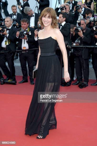MarieJosee Croze attends the 'Based On A True Story' screening during the 70th annual Cannes Film Festival at Palais des Festivals on May 27 2017 in...