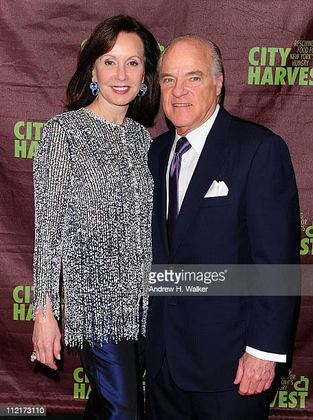"""Marie-Josee Kravis and Henry Kravis attend City Harvest's 17th Annual """"An Evening of Practical Magic"""" hosted by Cynthia Nixon at Cipriani 42nd Street..."""
