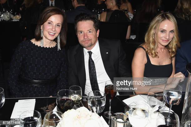 MarieJosee Kravis Michael J Fox and Tracy Pollan attend The Museum of Modern Art Film Benefit presented by CHANEL A Tribute to Julianne Moore at MOMA...