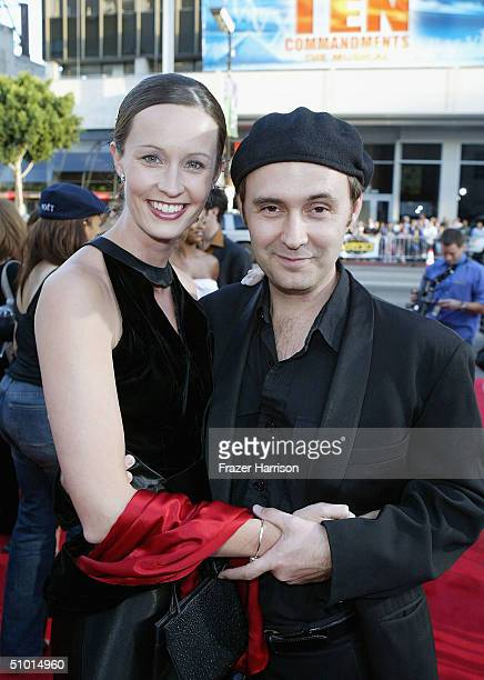 """Marieke Beeler and David Beeler arrive at the World Premiere of """"LA Twister"""" on June 30, 2004 at the Grauman's Chinese Theatre, in Hollywood,..."""