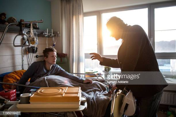 Marieke Vervoort a 38 year old Paralympic athlete is visited by Belgium's leading euthanasia doctor oncologist Wim Distelmans who is treating Marieke...