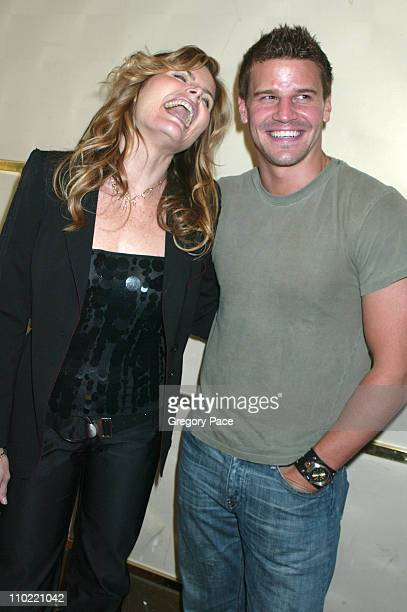 Mariel Hemingway and David Boreanaz star of the new Fox show Bones