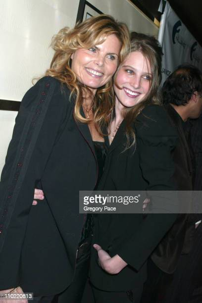 Mariel Hemingway and her daughter Dree Crisman during Alliance Celebrates Network Television's 2005 UpFront Week With A Star Studded Party at Marquee...