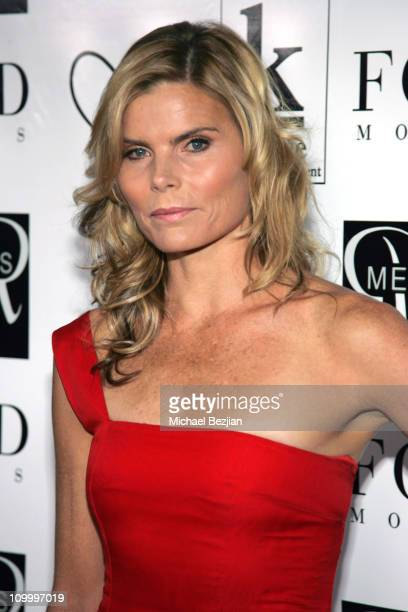 Mariel Hemingway during 1st Annual Catwalk for Charity for Children's Hospital in Los Angeles at Raleigh Studios in Hollywood California United States