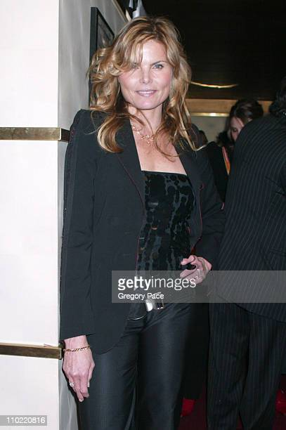 Mariel Hemingway during Alliance Celebrates Network Television's 2005 UpFront Week With A Star Studded Party at Marquee in New York City New York...