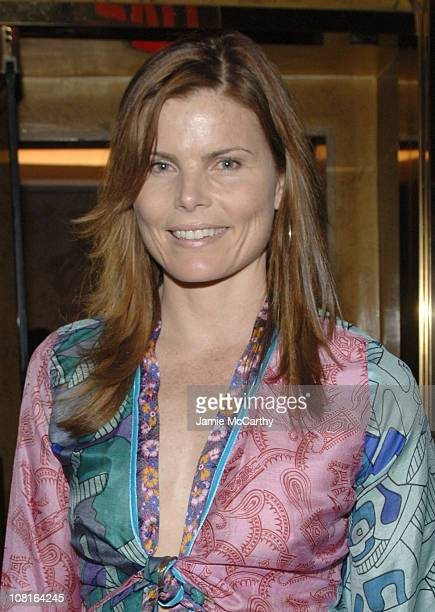 Mariel Hemingway during Allure Magazine EditorinChief Linda Wells Hosts Party for Photographer Michael Thompson's Book Images at Bemelmans Bar The...