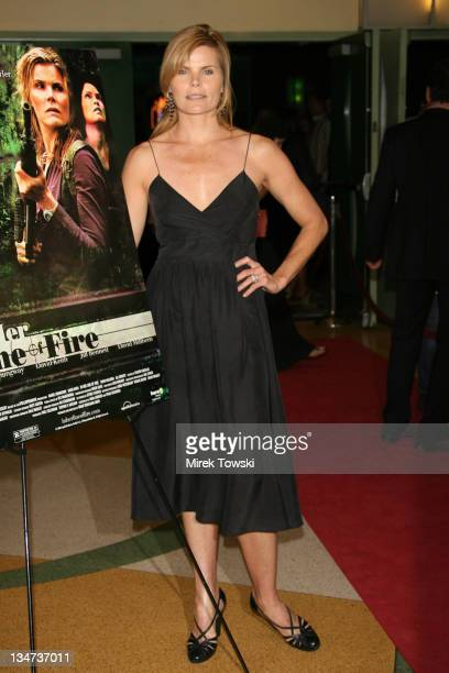 Mariel Hemingway during 'In Her Line of Fire' Los Angeles premiere at Regent Showcase Theater in Los Angeles California United States