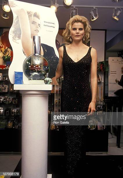 Mariel Hemingway during Launch of New Perfume 'Mariel by H2O Plus' at H2O Plus in New York City New York United States