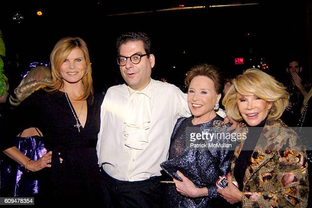 Mariel Hemingway Michael Musto Cindy Adams and Joan Rivers attend Book Launch Celebration for MICHAEL MUSTO hosted by ROSIE PEREZ and PEREZ HILTON at...