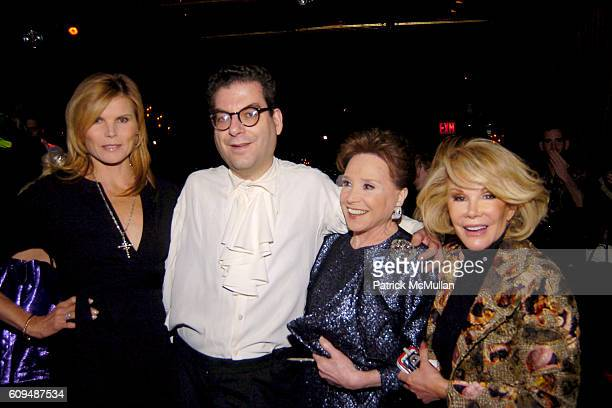 Mariel Hemingway Micheal Musto Cindy Adams and Joan Rivers attend Book Launch Celebration for MICHAEL MUSTO hosted by ROSIE PEREZ and PEREZ HILTON at...