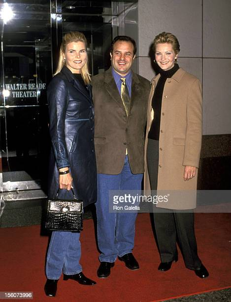 Mariel Hemingway Rod Lurie and Joan Allen during Special Screening of 'The Contender' at Walter Reade Theater in New York City New York United States