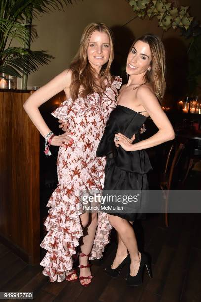 Mariel Saffra and Brett Sundheim attend Billy Macklowe's 50th Birthday Spectacular at Chinese Tuxedo on April 21 2018 in New York City