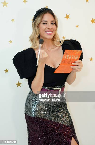 Mariela Bagnato celebrates the holiday season with Fiestas Amazon on November 20, 2019 in Miami, Florida. Mariela Bagnato celebra la temporada...