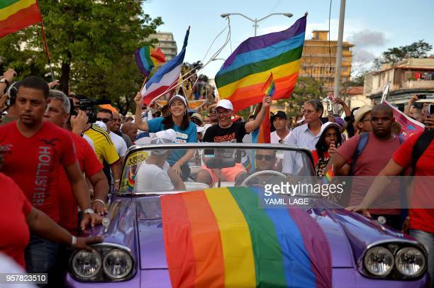 Mariela Castro , daughter of Cuban former President Raul Castro and the director of the National Center for Sex Education , participates in the gay...