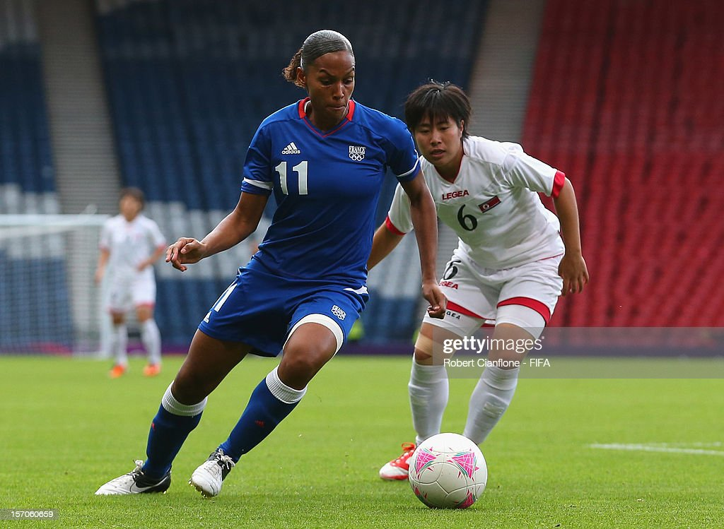 Olympics Day 1 - Women's Football - France v Korea DPR : News Photo