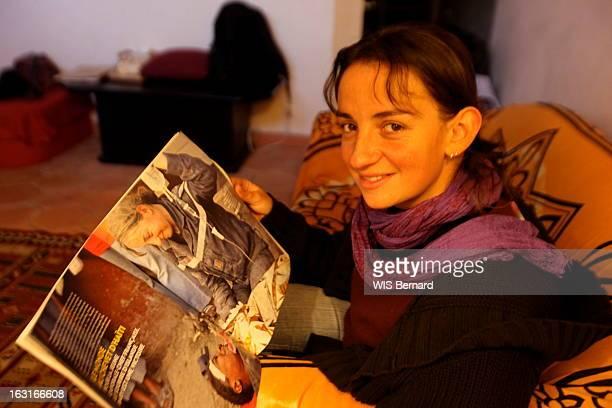 MarieLaurence Saissi Of The Brignoles Civil Security At Home At Her Return Of Haiti Brignoles 5 février 2010 la caporalechef MarieLaurence SAISSI de...