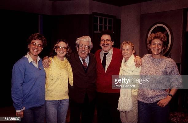 Mariele Millowitsch, Tochter Katarina Millowitsch, Vater Willy Millowitsch, Sohn Peter Millowitsch, Tochter Susanne Millowitsch, Schwiegertochter...