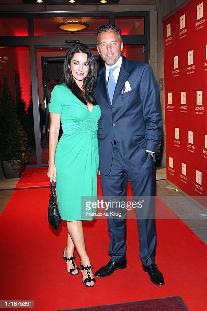 Mariella Ahrens and husband And Patrick Graf Von Faber Castell at the Grand Opening Of The Leonardo Royal Hotel in Berlin