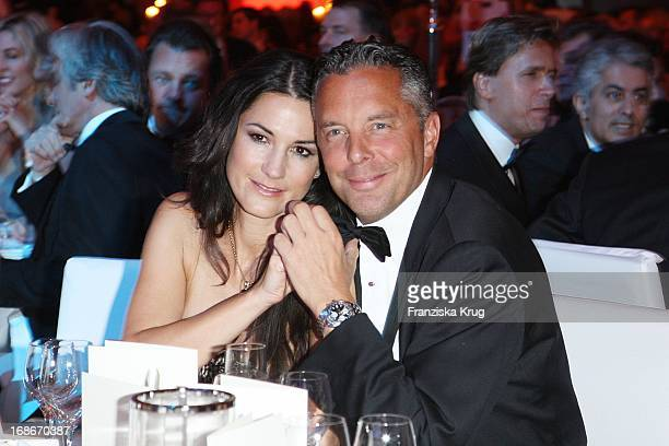 Mariella Ahrens and Husband Patrick Graf von FaberCastell In The UNESCO Charity Gala at the Maritim Hotel in Dusseldorf