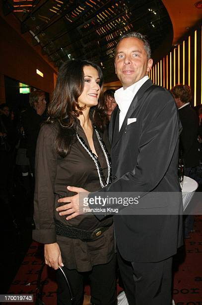 "Mariella Ahrens and Patrick Graf von Faber-Castell in Germany at Premiere Of ""Casino Royale"" in Cinestar Potsdamer Platz Berlin."