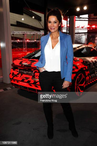 Mariella Ahrens at the Audi Berlinale Brunch during the 69th Berlinale International Film Festival at Berlinale Palace on February 10 2019 in Berlin...