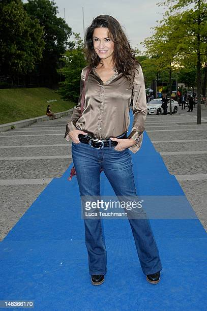 Mariella Ahrens attend the producer party 2012 of the German producers alliance on June 14 2012 in Berlin Germany