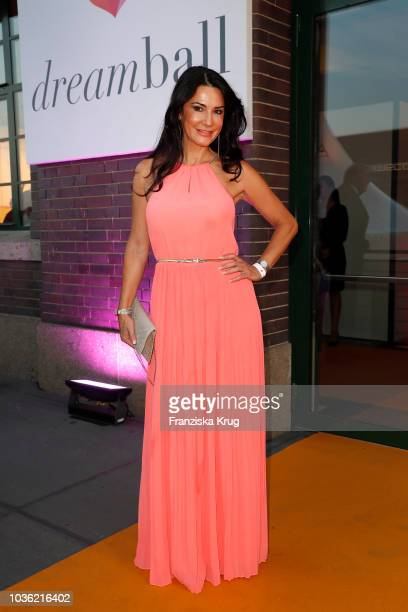 Mariella Ahrens attends the Dreamball 2018 at WECC Westhafen Event Convention Center on September 19 2018 in Berlin Germany