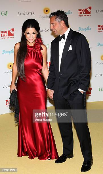 Mariella Ahrens Countess von Faber-Castell and Patrick von Faber-Castell attend the Dreamball2008 charity gala in the Martin-Gropius Building on...