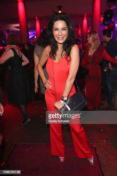 Mariella Ahrens during the BUNTE BMW Festival Night at Restaurant Gendarmerie during the 69th Berlinale Filmfestival on February 8 2019 in Berlin...