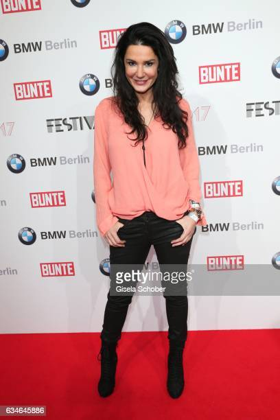 Mariella Ahrens during the BUNTE BMW Festival Night during the 67th Berlinale International Film Festival Berlin at restaurant 'Gendarmerie' on...