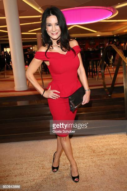 Mariella Ahrens during the Four Seasons Fashion Charity Dinner at Hotel Vier Jahreszeiten on March 15 2018 in Munich Germany