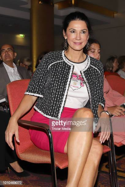 Mariella Ahrens during the Winter/Autumn Fashion Show 'Breaking The Ice' of Liz Malraux on August 2 2018 in Hamburg Germany