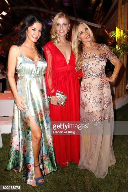 Mariella Ahrens Tanja Buelter and Xenia Seeberg attend the Raffaello Summer Day 2017 to celebrate the 27th anniversary of Raffaello on June 23 2017...