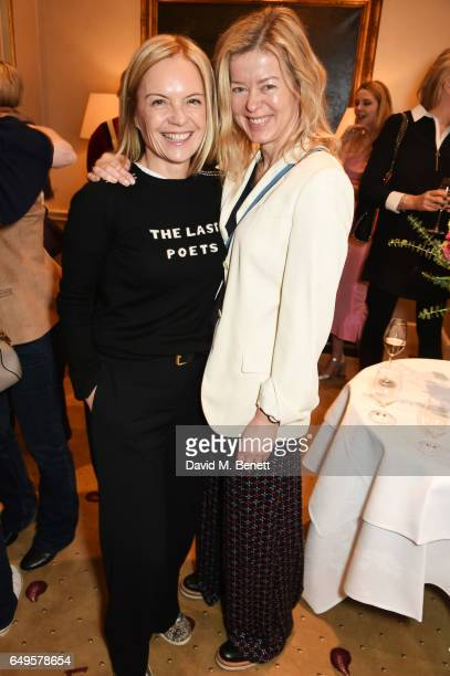 Mariella Frostrup and Lady Helen Taylor attend the International Women's Day lunch at Wiltons on March 8 2017 in London United Kingdom