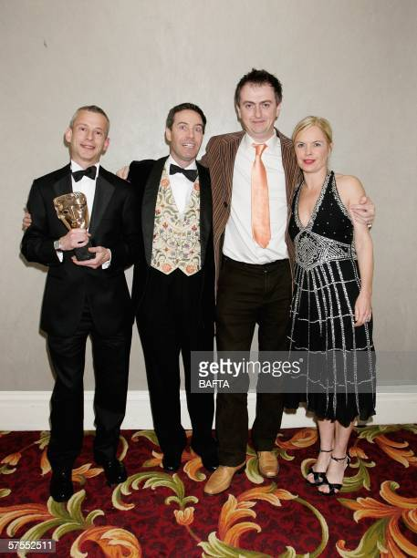 Mariella Frostrup and the production team behind Holocaust A Music Memorial leave the stage having presented and received respectively the Huw...