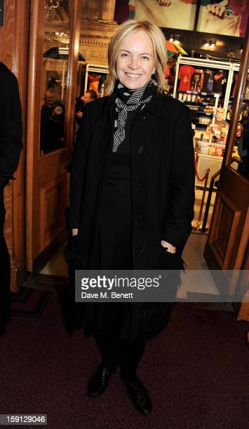 Mariella Frostrup arrives at the opening night of Cirque Du Soleil's Kooza at Royal Albert Hall on January 8 2013 in London England