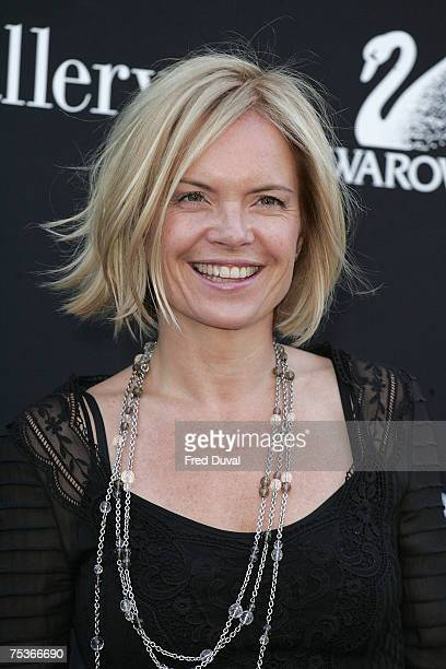 Mariella Frostrup arrives at The Serpentine Gallery Summer Party on July 11 2007 in London England