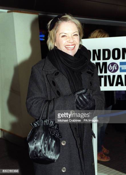 Mariella Frostrup at the closing night gala of The London Film Festival for the European premiere of Sam Mendes' cinematic debut American Beauty...