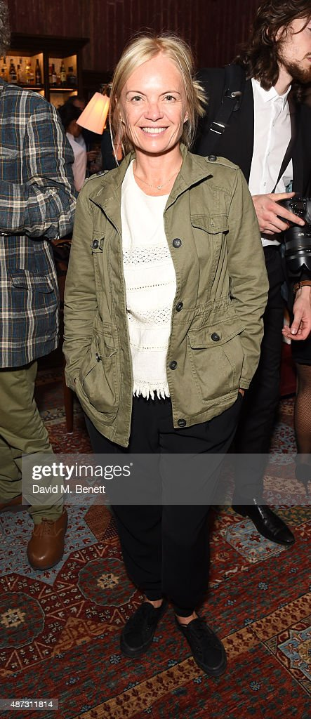 Mariella Frostrup attends the launch of the Academicians' Room private members club in The Keeper's House at The Royal Academy of Arts on September 8, 2015 in London, England.