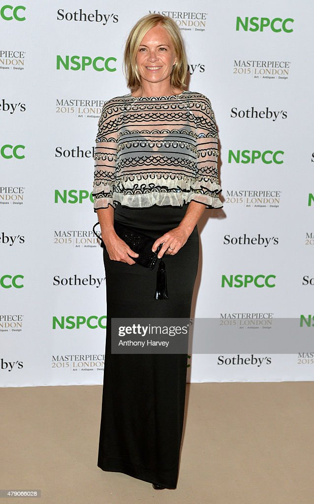 Mariella Frostrup attends the NSPCC Neo-Romantic Art Gala at Masterpiece London on June 30, 2015 in London, England.